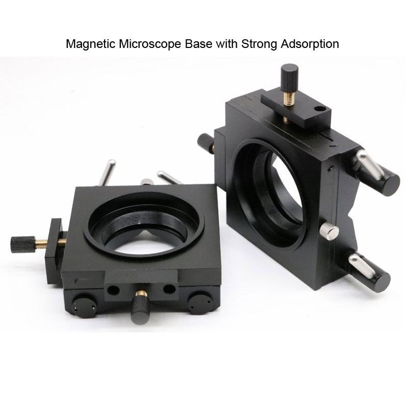 Image 3 - Polarizing Light Microscope Handheld Diagnost Equipment Portable Metallographic Microscope with Magnetic Base Polarizer-in Microscopes from Tools