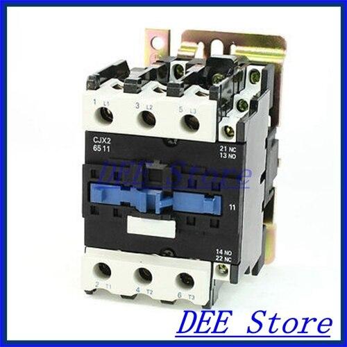 Motor Control AC Contactor AC-3 37KW 80A 3P 3 Pole 24 Volts Coil npl p 43 37 купить