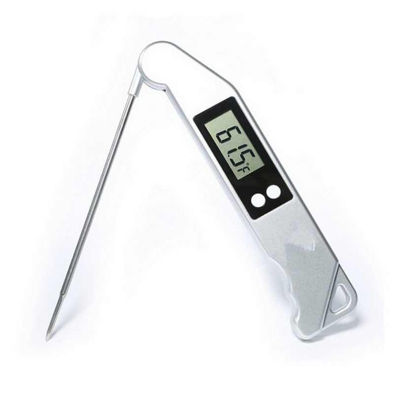Foldable Digital BBQ Thermometer Cooking Food Kitchen Meat Thermometers For Oven With Probe Temperature Gauges Barbecue Tools