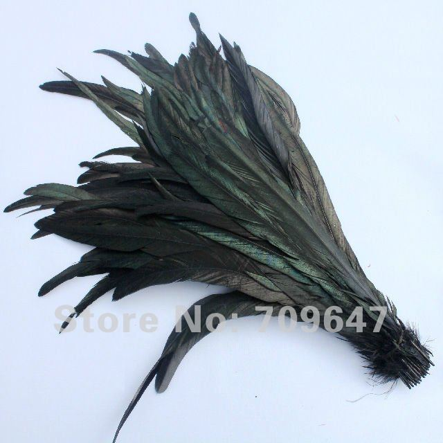 """FLY TYING ART/& CRAFT   HATS ROOSTER TAIL FEATHERS 10/""""-12/"""" VARIOUS COLOURS"""
