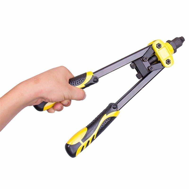 New 1Pc Industrial Grade Manual Rivet Machine Household Grab Nail Pliers Labor-Saving Core Rivet Heavy Duty Riveter