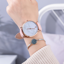 Watch Leather Brand Quartz