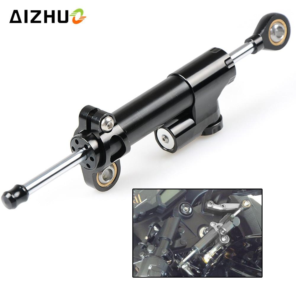 Universal Motorcycle Damper Steering Stabilize Safety Control Aluminum For Honda Yamaha MT-07 MT-09 FZ9 SR 2014 2015 MT07 MT09