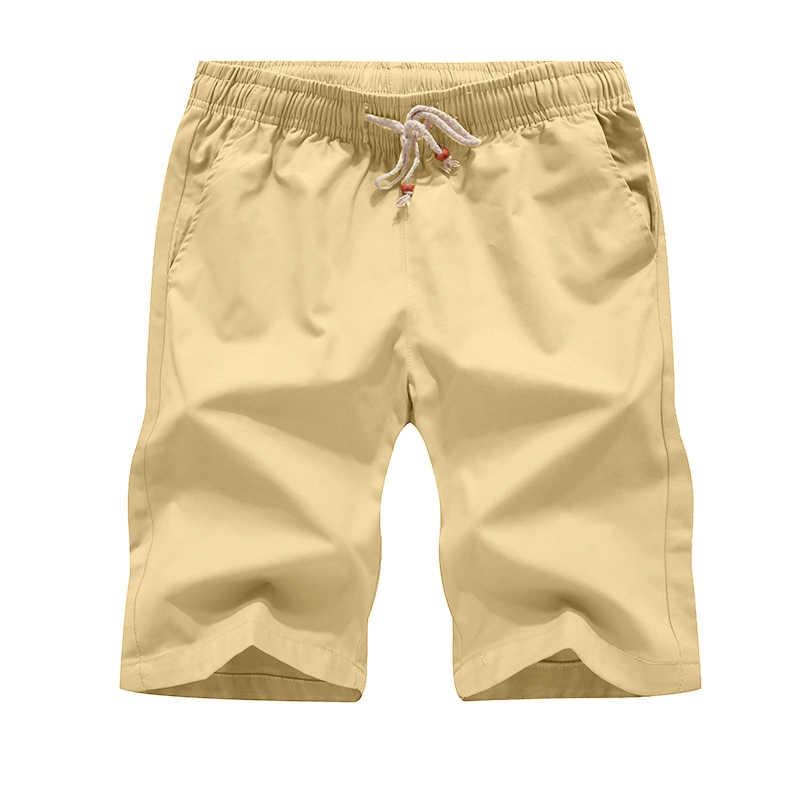Летние для мужчин брюки Карго повседневные мужские шорты хлопок Твердые пляжные Borad шорты для женщин 2019 мужской новый по колено треники 5XL бермуды Masculino