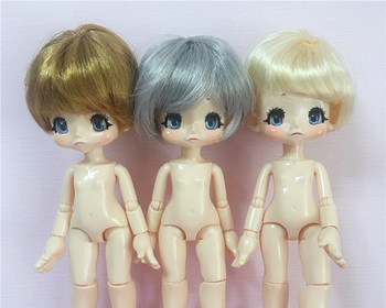 FREE SHIPPING QBTD CUTE DOLL BJD SD JOINTED TOY JOINT BODY WITH HAIR DIY GIFT FOR GIRL OR BOY LOVELY DOLL