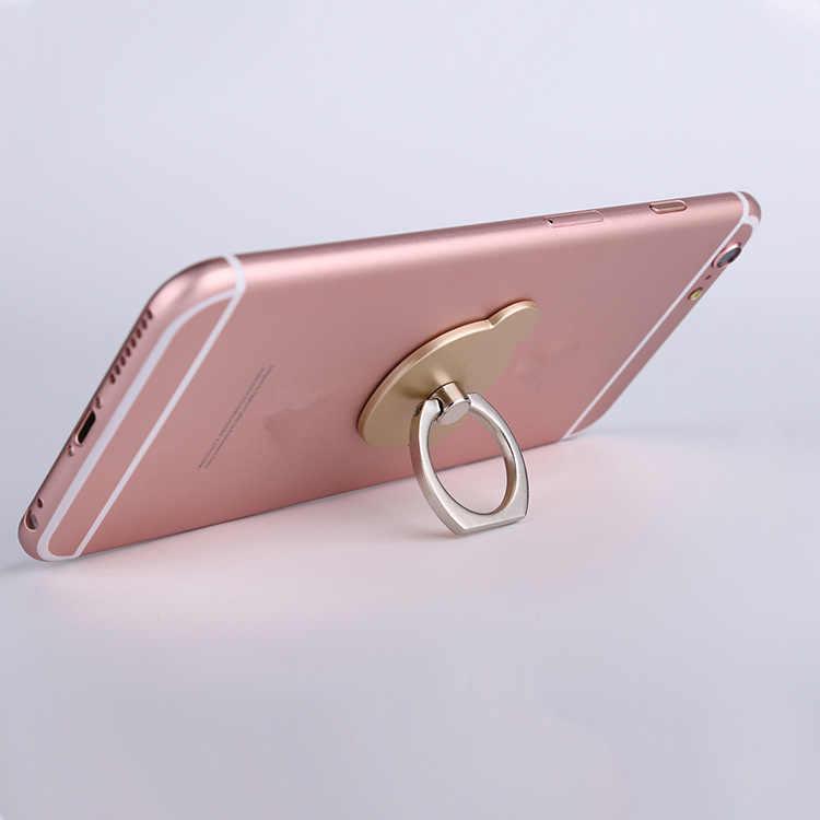 شحن مجاني Q سلسلة 6 ألوان حامل العالمي حلقة للهاتف المحمول ثلاثية الأبعاد حامل حامل آيفون بقبضة الأصابع حامل آيفون X 8 7 6 5 زائد سامسونج