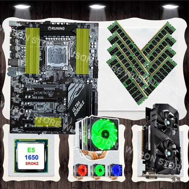 שדרוג ישן מחשב Runing X79 האם עם מעבד Xeon E5 1650 C2 3 2 ghz עם cooler  וידאו כרטיס GTX1050TI 4GD5 RAM 8*16 גרם