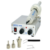 AOYUE 8208 Miniature Turbine Rotary Air Blowing Soldering Station Desoldering Station Anti Static Maintenance Station 260W