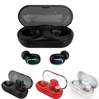 Portable TWS Wireless Earphone Mini Buletooth Stereo With Mic Earphone In Ear Earbud With Charging Box Headset For Smartphone
