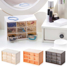 New Storage Boxes And Bins 9 Grid Drawer Storage Box Jewelry Box Organizer For Cosmetics Makeup Organizer Container For Storage guidecraft mission storage bench and bins