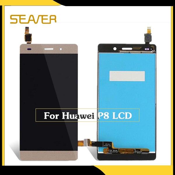 Accesorios del teléfono móvil pantalla lcd para Huawei P8 pantalla y sustitución