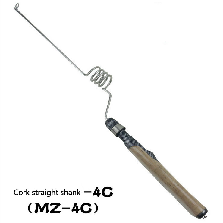EMMROD MZ - 4 c elastic rod Cork straight shank fishing rod sea fishing boat fishing rods fishing supplies point break pq 4c wd high quality elastic rod cork handle portable rod strong sensitive sea rod fishing gear fast transport