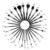 Atacado 20 jogos/lote MSQ Pincéis de Maquiagem Profissional 29 pcs Pêlo de cabra Escova Cosmética Ferramenta Kit Com uma Bolsa de Couro Preto