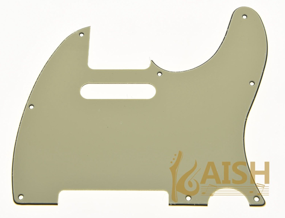 KAISH Light CreamGuitar Pick Guard Scratch Plate Fits TL Guitar