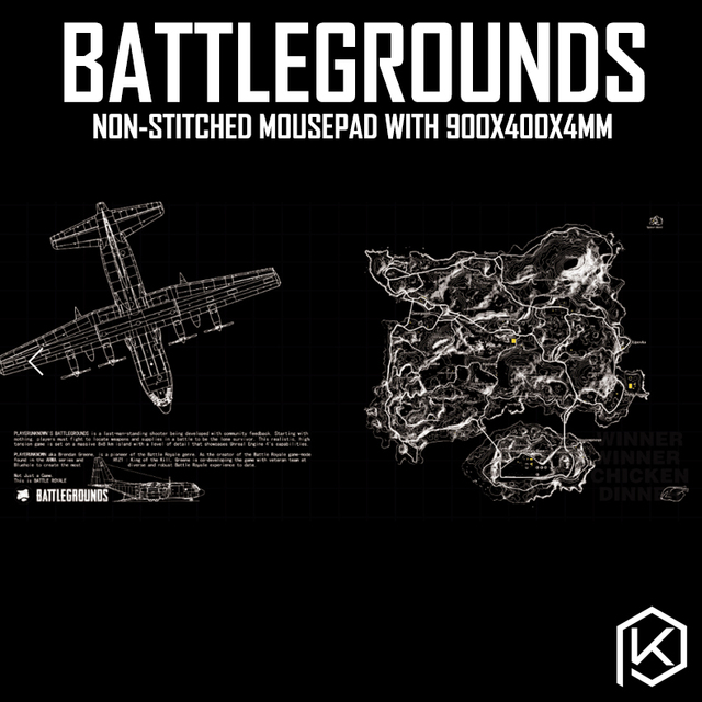 US $21 9 |Mechanical keyboard map pubg Player Unknown's Battlegrounds  Mousepad 900 400 4 mm non Stitched Edges Soft/Rubber High quality -in  Keyboards