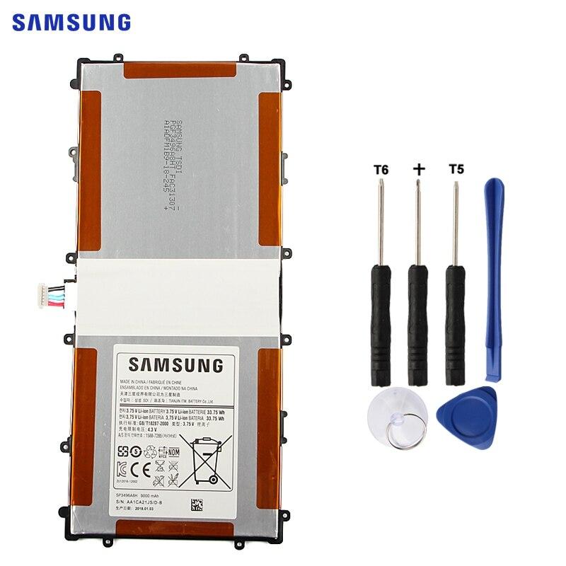 SAMSUNG Original Ersatz Batterie SP3496A8H Für Samsung Google Nexus 10 GT-P8110 HA32ARB Authentische Tablet Batterie 9000 mah