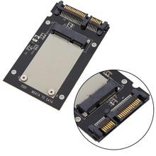 """Adaptateur SSD sata mSATA SSD vers 2.5 """"disque SATA adaptateur carte 50mm pour PC Windows 2000/XP/7/8/10 Vista Linux Mac"""
