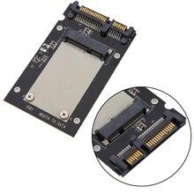 "SSD sata Adapter mSATA SSD to 2.5"" SATA Drive Converter Adapter Card 50mm for PC Windows 2000/XP/7/8/10 Vista Linux Mac"