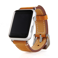 FOHUAS luxury gift Highquality Frosted leather Wrist Strap for apple Watch Band Classic Bracelet 38mm men 42mm