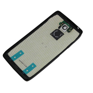Image 2 - Porte originale de boîtier de couvercle de batterie arrière pour Motorola Moto Droid Turbo XT1254 XT1225, couleur bleu noir ou rouge