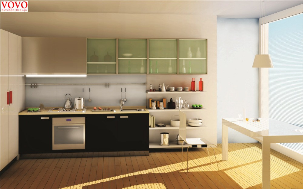 US $2400.0  Kitchen cabinet color combinations-in Kitchen Cabinets from  Home Improvement on AliExpress