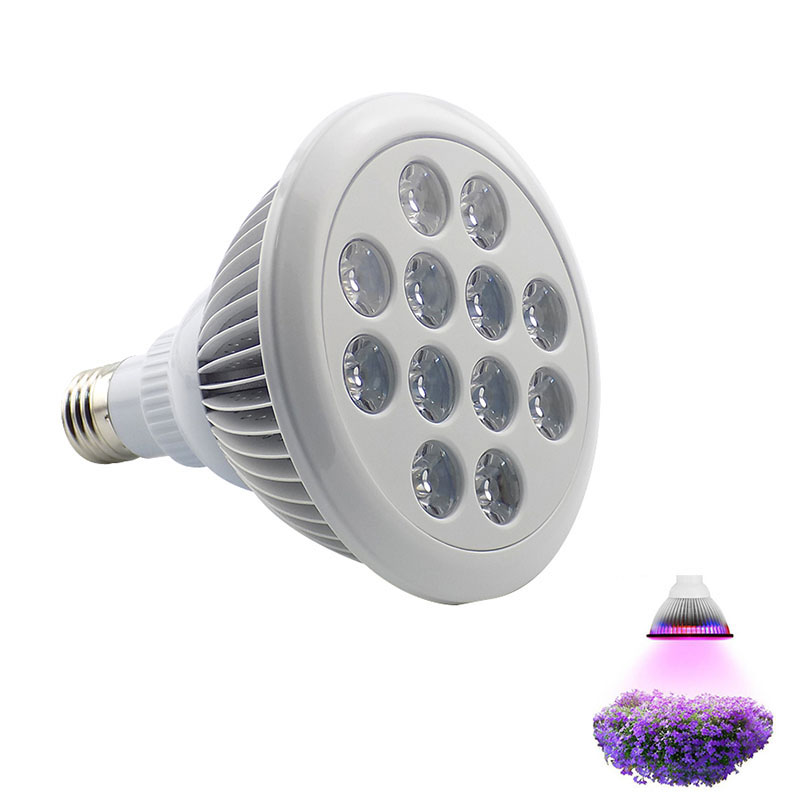 36W LED Plant Grow Light Lamp Growing Lights Bulbs Hydroponics System for Plants Flower seeds Vegetable Indoor Greenhouse E27