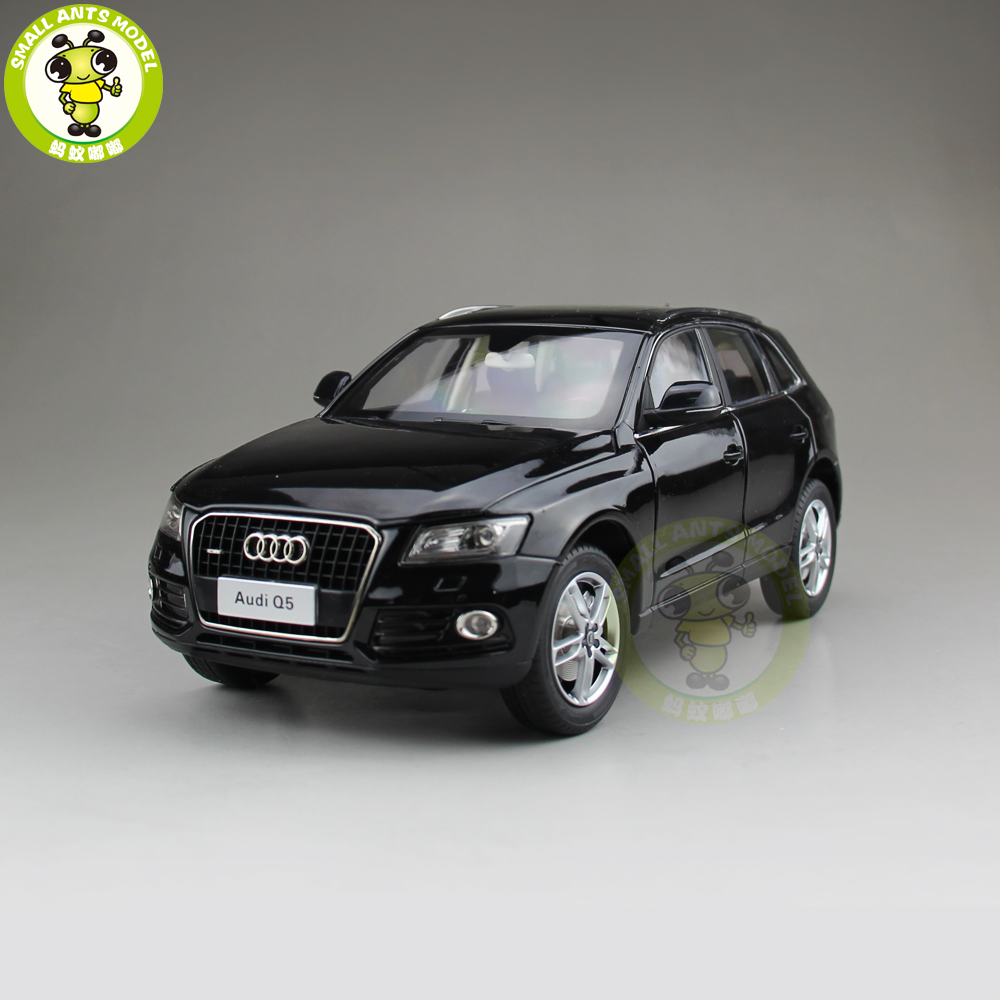 1/18 Audi Q5 SUV Diecast Metal Car SUV Model Toy Girl Kids Boy Gift Collection Black 1 18 vw volkswagen teramont suv diecast metal suv car model toy gift hobby collection silver