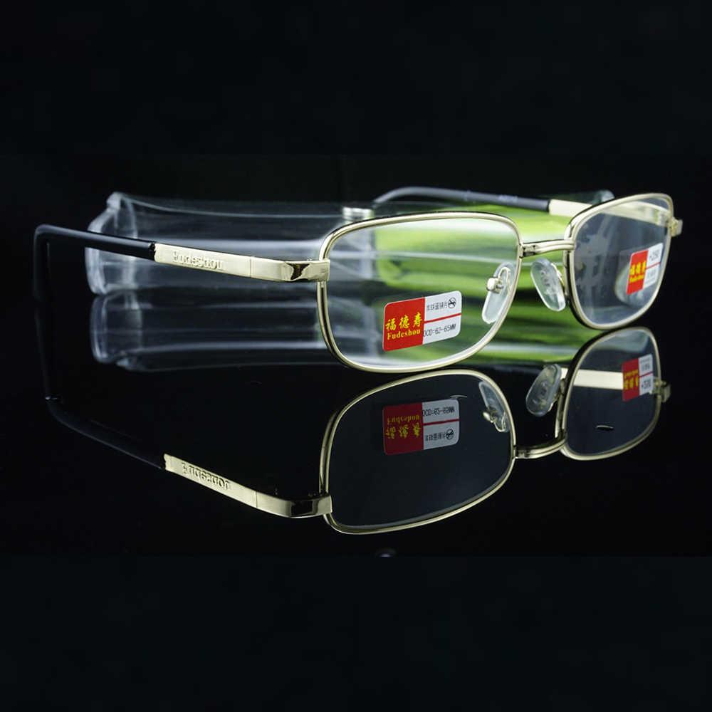 = Clara Vida Lüks Anti Radyasyon Yorgunluk Reçine Veya Doğal Kristal Lens okuma gözlüğü Durumda + 1 + 1.5 + 2 + 2.5 + 3 + 3.5 + 4