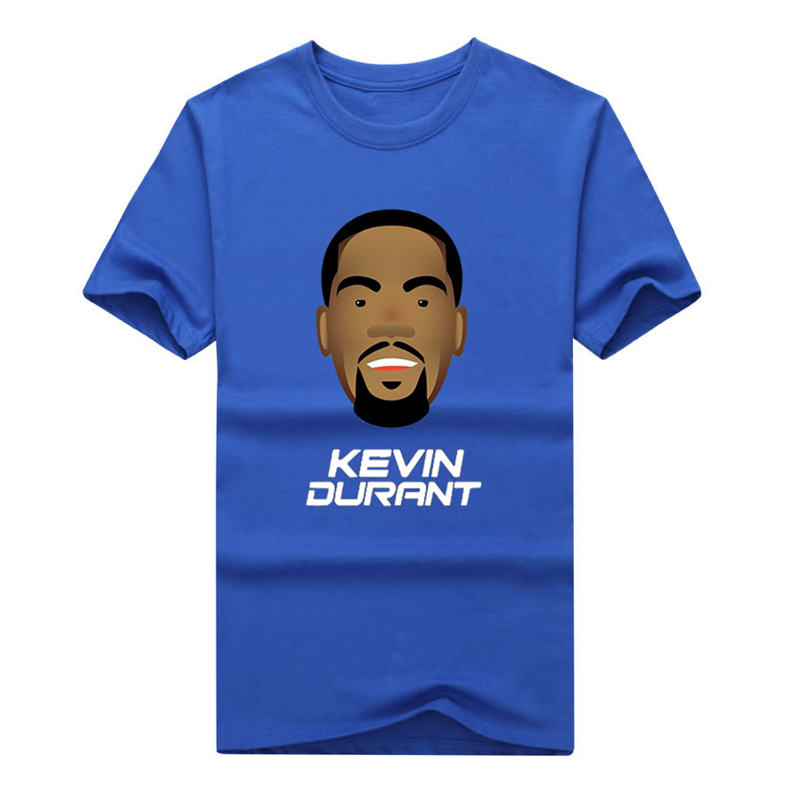 2018 New 100% Cotton Kevin Durant <font><b>KD</b></font> T-<font><b>shirt</b></font> fashion T <font><b>Shirt</b></font> FANS gift 0306-10 image