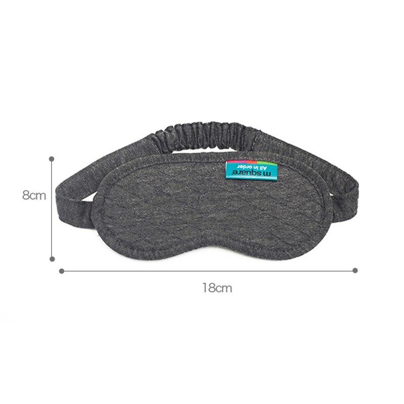 M Kwadratowe akcesoria podróżne do spania Eye Mask Cotton Sleep - Akcesoria podróżne - Zdjęcie 6