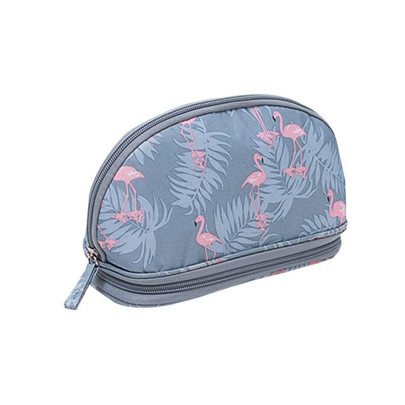 Semicircle Makeup Kit Storage Bags Women Versatile Cosmetic Zipper Pouch Brushes