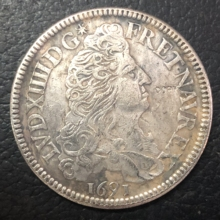 1691-P Франция-Королевство 1 ЭБУ-Луи XIV имитация монеты