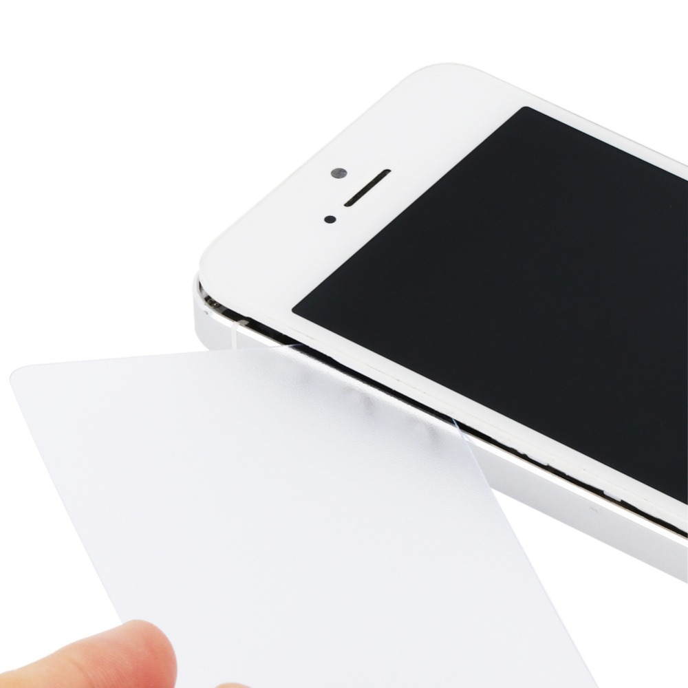 100pcs/Pack Plastic Panel Teardown Card for iPhone iPad Samsung Cell Phone LCD Screen Back Opening Scraper