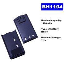 72 в 1100 мА/ч ni mh аккумулятор bh1104 для двухсторонней рации