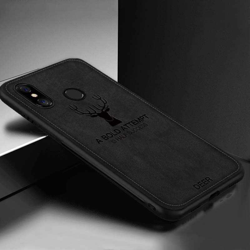 2019 卸売ユニセックスソフト布電話バックカバーケース Xiaomi Redmi メイト 20 プロメイト 20X 携帯電話安全アクセサリー