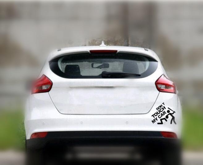 Auto Styling Lustige Auto Aufkleber Für Nissan X Trail Opel Corsa Polo Volkswagen Skoda Superb Ssangyong Mitsubishi Auto Zubehör