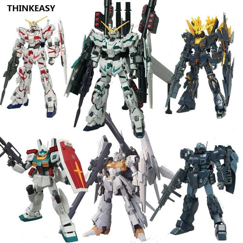 DABAN  Gundam Model HG 1/144 Banshee UNICORN Jegan Delta Armor Unchained Mobile Suit Kids Toys