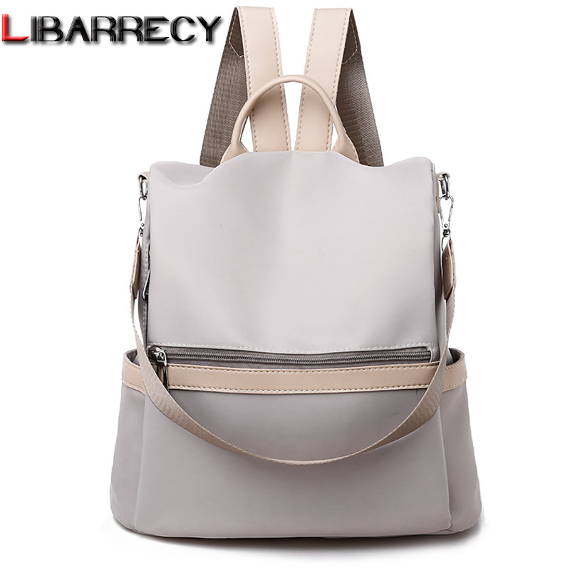 Oxford Anti-theft Backpack Women 2019 Korean Fashion Shoulder School Bags Female Casual Large Capacity Preppy Zipper Travel Bags