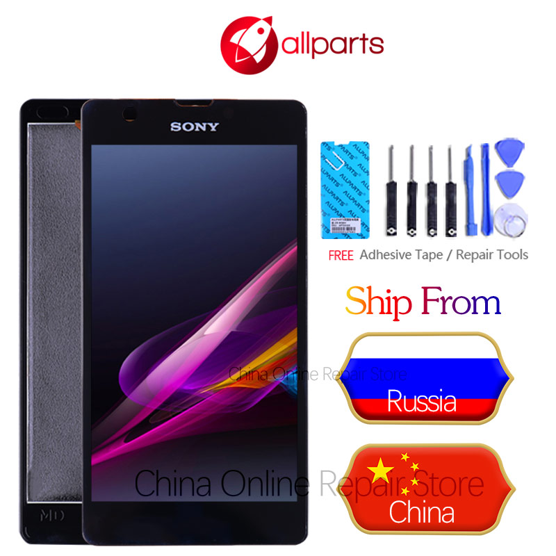 ORIGINAL For Sony Xperia ZR Display Touch Screen Replacement Screen For SONY Xperia ZR LCD Display M36h C5502 C5503 LCD