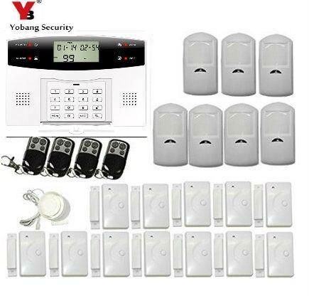 Yobang 30A de Sécurité Système D'alarme GSM Accueil Cambrioleur de Sécurité D'alarme Gsm Alarma Cas Avec Capteur de Porte Sans Fil Détecteur de Mouvement