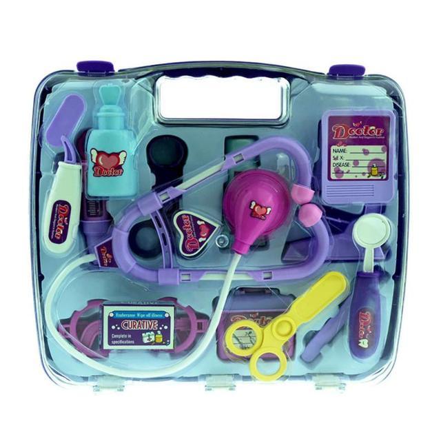 Niños papel play enfermeras médico conjunto de juguete kit médico médico cosplay play educational toys regalo de navidad para niños