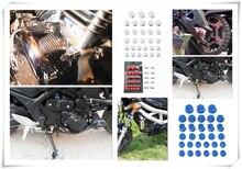 30 шт декоративная шнековая Крышка для мотоцикла kawasaki zr750