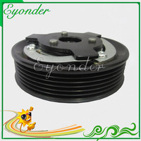 AC A/C Air Conditioning Compressor Magnetic Clutch Assembly Kit for Volkswagen TOURAN 1T1 1T2 RABBIT V 1K1 CADDY III 1K0820808B