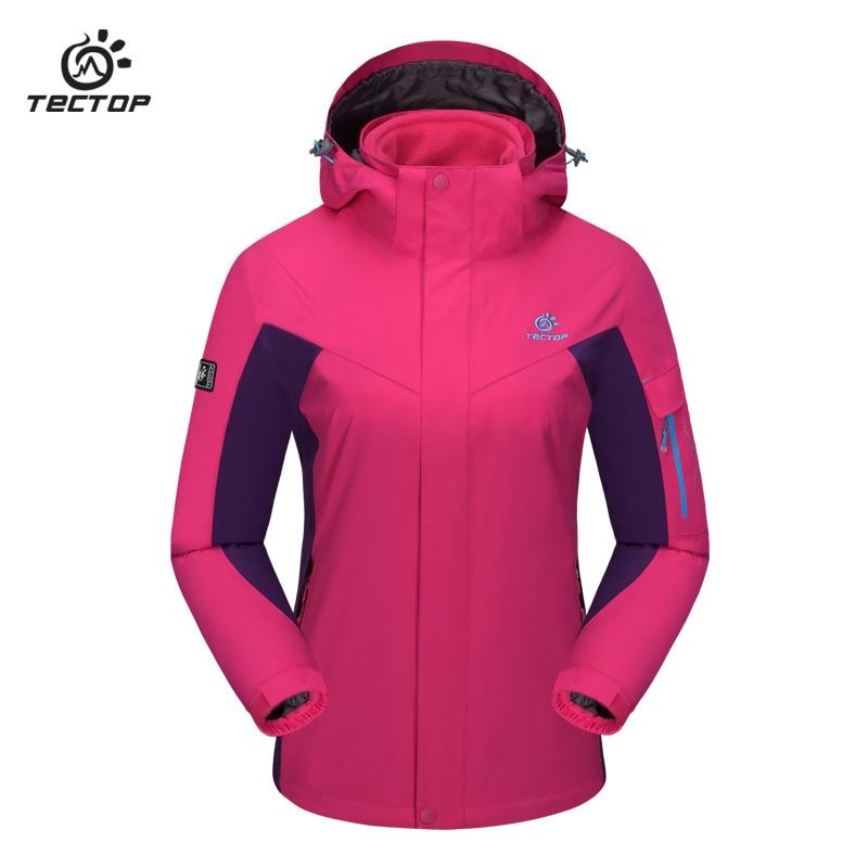 Outdoor Winter Ski Waterproof font b Jacket b font Two Piece Large Size Fleece Warm font