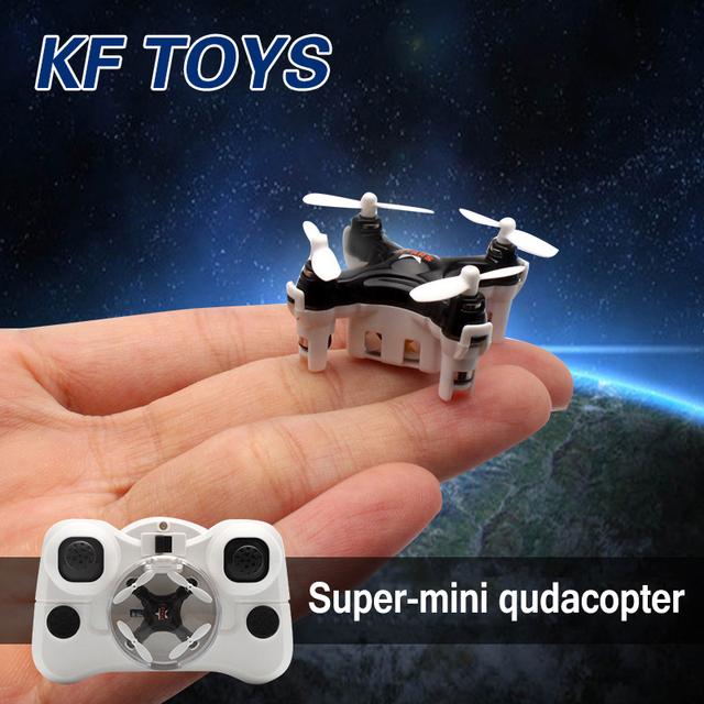 Novo mini dron helicóptero de controle remoto rc micro quadcopter cheerson cx-estrelas bolso drone vs fq777