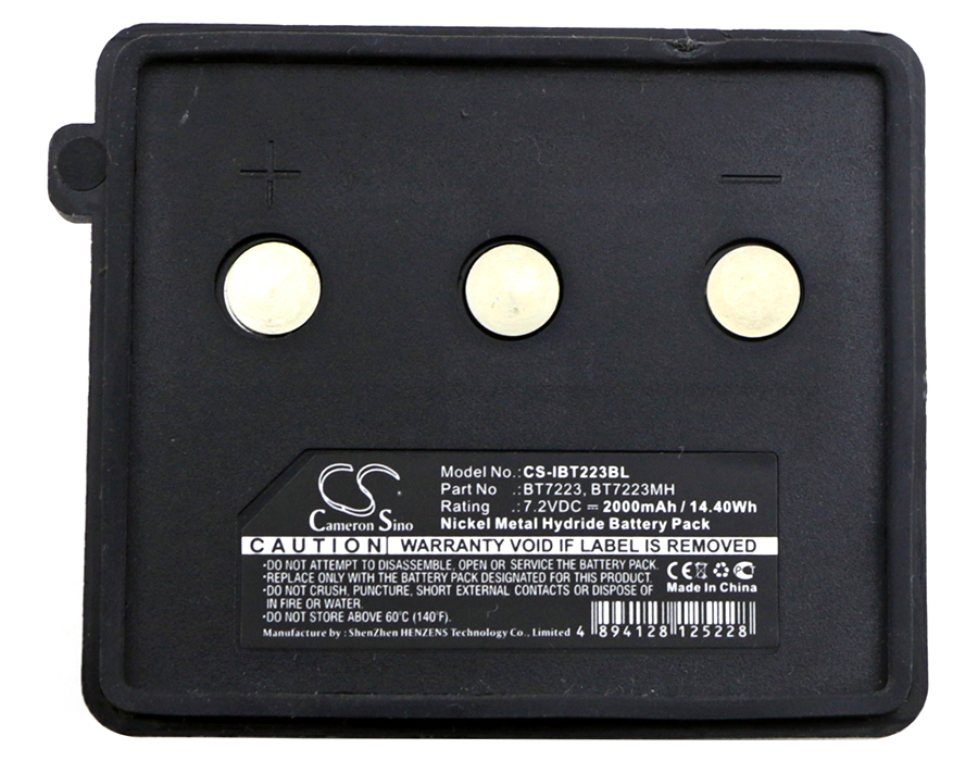 Cameron Sino 2000mAh Battery BT7223, BT7223MH for Itowa <font><b>Beton</b></font>, Combi, Compact, Setval image