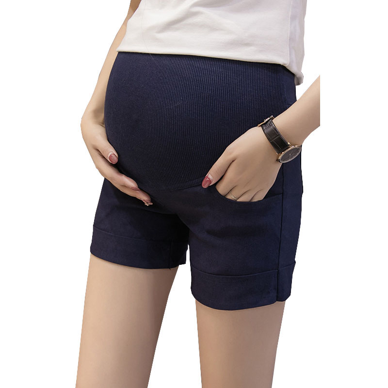 Maternity   Shorts   Pregnancy Pants For Pregnant Women Clothing Elastic Waist Casual   Shorts   Gravidas Pants Mother Wear Clothes
