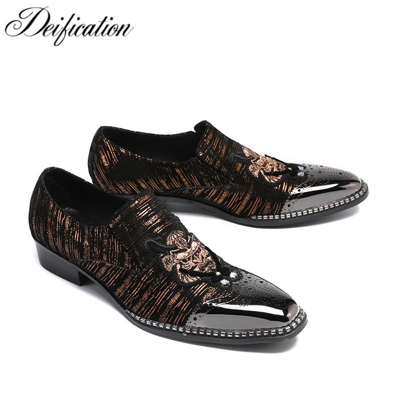 Zapatos De Hombre Fashion Designer Mens Shoes Schoenen Casual Mocassin Homme Hand Embroidery Wedding Shoes Men Loafers Plus Size