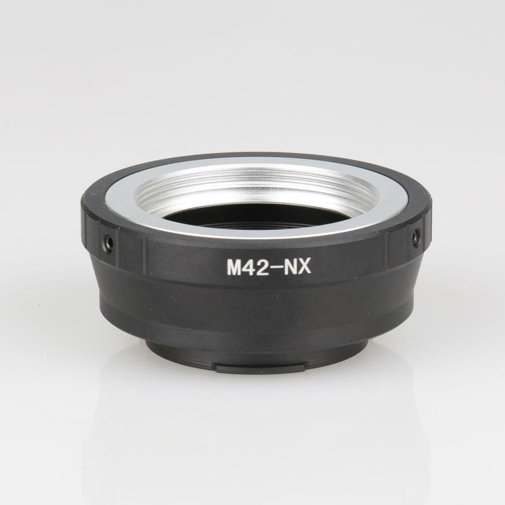 M42-NX lente adaptador para M42 lente de tornillo para Samsung NX Mount adaptador NX10 NX11 NX5 NX100 NX210 NX1000