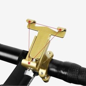 Image 4 - Universale Lega di Alluminio Del Motociclo Supporto Del Telefono Supporto Telefono Specchio Retrovisore Moto Supporto Del Telefono GPS Del Manubrio Della Bici Del Supporto